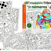 Diset Juego educativo para niños para aprender los numeros