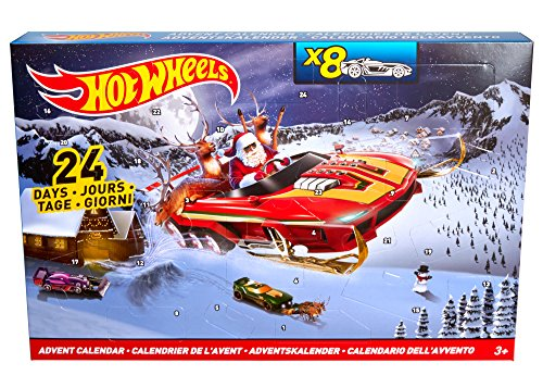 ferngesteuerte hot wheels Hot Wheels DMH53 Adventskalender
