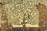 175.489 impero post replica della pittura Gustav Klimt 'l'albero della vita', 91.5 x 61 cm