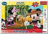 Trefl TRF31131 - Puzzle Mickey e Minny in Campagna immagine