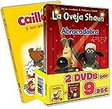Pack Con Faja Collección Caillou 25 Aniversario Vol. 1 + La Oveja Shaun Volumen 4 [DVD]