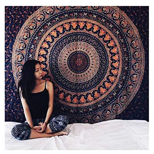 AoDi Elefante Arazzo,Tapestry Queen Ombre Gift Hippie Etnico arazzi Mandala Indiano Telo...