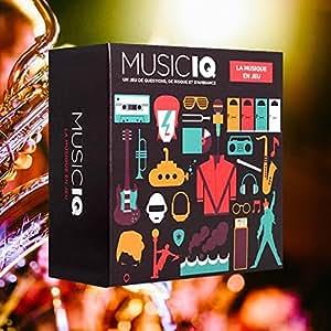 Asmodee - MUSIQ - Jeux de connaissance et Questions-réponses - Music IQ