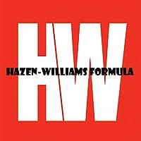 Hazen-Williams Formula in Metric Units