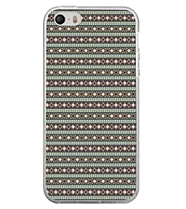 Colourful Pattern 2D Hard Polycarbonate Designer Back Case Cover for Apple iPhone 4