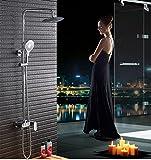Tipo di pulsante Bagno multifunzione montaggio a parete Set doccia con soffione a pioggia