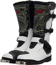 MERRYHE Herren High Top Motorradstiefel Anti Slip Motorrad Gepanzerte Stiefel Wasserdichte Cruiser Boot Warme Schutz Schuhe