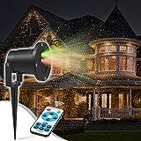 Natale Proiettore Luci Halloween Giardino Vacanza Festa Di Halloween Decorazion 15m, 12 Modalità Impermeabile Projector Lampada Magica