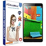 #4: CELLBELL® Tempered Glass Screen Protector For Lenovo Phab PB1-750M (6.98