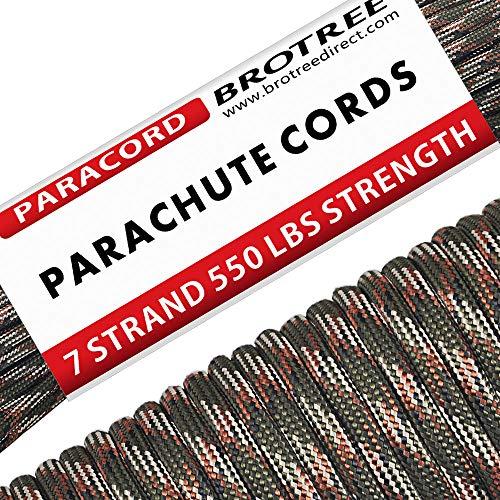 Brotree 30m Paracord Cuerda Paracaídas
