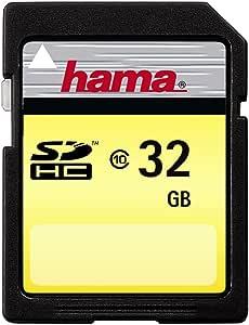 Hama High Speed Gold Sdhc 32gb Speicherkarte Class 10 Computer Zubehör