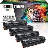Cool Toner 4 Packs Kompatibel für Samsung CLT-K504S CLT K504S C504S M504S Y504S CLT-504 Toner für Samsung Xpress C1860FW C1810W Toner, Samsung CLX-4195FN CLX-4195FW Toner CLX-4195N CLX 4195 FW FN
