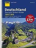 ADAC Superstraßen Deutschland, Österreich, Schweiz & Europa 2018/2019 1:200 000 (ADAC Atlanten) - COLLECTIF