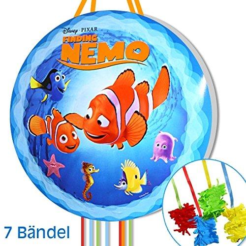 Findet Nemo Pullpinata/Zugpinata für Geburtstag kleine Kinder Dekoration/Spiel