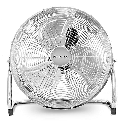 TROTEC Ventilatore da pavimento TVM 14 44 Watt di potenza 3 livelli di velocità Testa rotabile con angolo di inclinazione fino a 100° Diametro delle pale di 35 cm