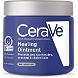 CERAVE 590101 Pommade de guérison avec des céramides de pétrolatum pour la protection et la apaisement fissuré, 12 oz