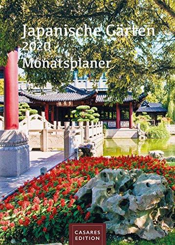 Japanische Gärten Monatsplaner 2020 30x42cm