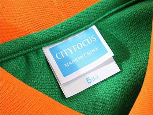 Polo da donna, Mttroli polo a maniche corte, slim fit, in cotone abbigliamento tops 2confezione Green ( Pack of 2 )