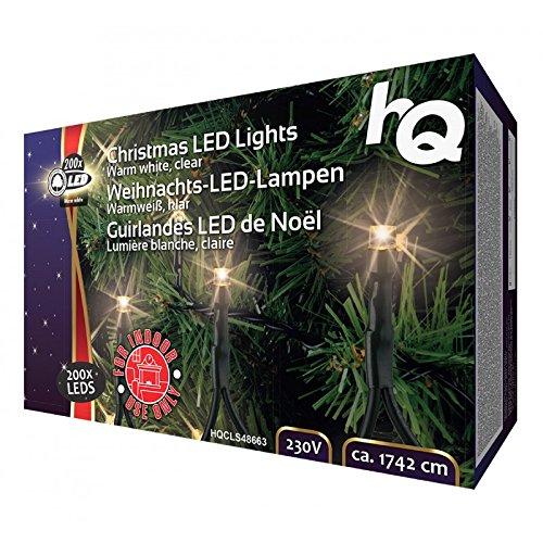 Hq - Luces de navidad 200 led
