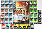 REWE EM 2016 - Komplettset 36 Karten Deutsche Nationalmannschaft + Sammelmappe