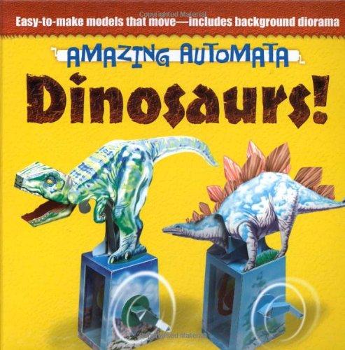 Amazing Automata -- Dinosaurs! (Dover Origami Papercraft)
