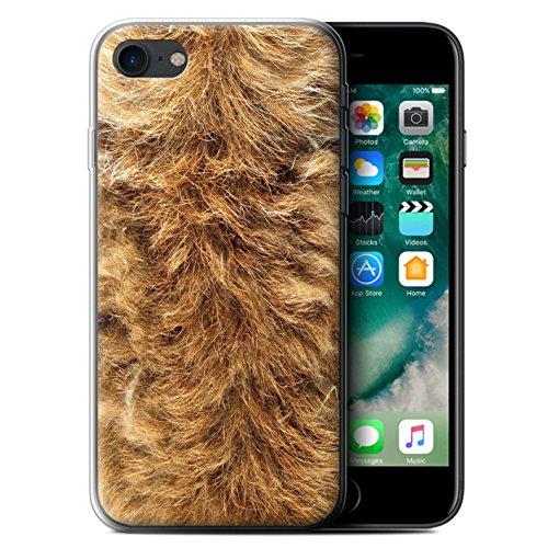 Coque Gel TPU de STUFF4 / Coque pour Apple iPhone 7 Plus / Léopard Design / Motif Fourrure Animale Collection Chien