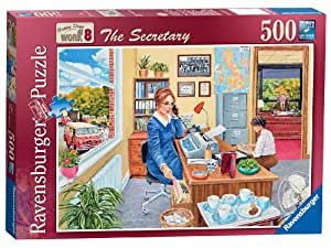 Ravensburger Happy Days at Work No.8 - The Secretary, 500pc Jigsaw Puzzle