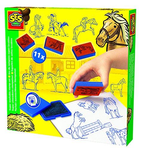 ses-creative-set-de-estampacion-de-caballos-superlavable-multicolor-14912