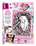 Mammut 8311720 - Sequin Art Teen Craft Einhorn, ca. 36 x 27 cm