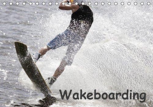 Wakeboarding / CH-Version (Tischkalender 2019 DIN A5 quer): Profisportler beim Wakeboarden: Ein schneller und spektakulärer Wassersport. (Monatskalender, 14 Seiten ) (CALVENDO Sport)