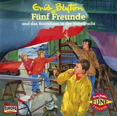 Buchseite und Rezensionen zu 'Fünf Freunde und das Bootshaus in der Nebelbucht' von Enid Blyton