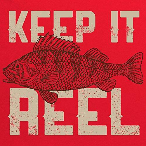 Keep It Reel - Perch T-shirt, Uomo Rosso
