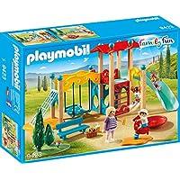 Playmobil Parc de Jeu avec Toboggan, 9423