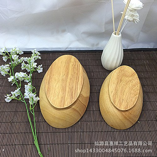 MEICHEN Negozi di mobili di cucina tipo nave di piatti a forma di barca in legno Dinnerware biscotto ovale piatto del piatto di snack di frutta secca , feet