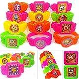 German Trendseller® - 6 x bracelet-montres avec ball maze puzzle┃casse-tête ┃jeu de patience┃ jouet de boule ┃petit cadeau┃ l'anniversaire d'enfant