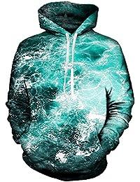 newi Star Unisexe 3D Impression Sweatshirt à Capuche à Manches Longues Veste à Capuche Poches S à 4 X L