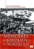 Mémoires de Bordeaux et du Bordelais [Francia] [DVD]