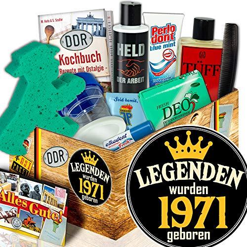 Geschenkidee 1971   Männer DDR Pflegebox   Legenden 1971 -
