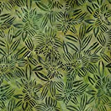 Fabric Freedom Mint Grün Pinsel Design 100% Baumwolle Bali Batik tie dye Muster Stoff für Patchwork, Quilten &,–(Preis pro/Quarter Meter)
