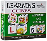 #9: Creative Educational Aids Learning Cubes Alphabet and Number