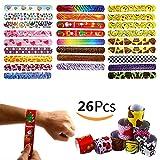 Slap Bracelet Plastique Emoji 25pcs Bracelets Claquer Fournitures Cadeaux pour Fête...