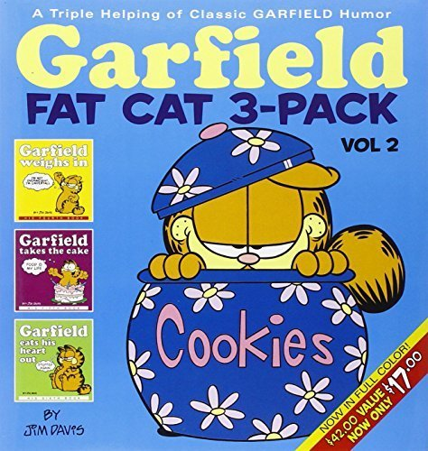 Garfield Fat Cat 3-Pack, Vol. 2: A Triple Helping of Classic Garfield Humor by Davis, Jim (2005) Paperback