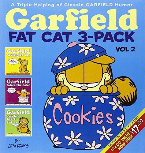 Garfield Fat Cat 3-Pack, Vol. 2: A Triple Helping of Classic Garfield Humor by Davis, Jim (2005) Paperback