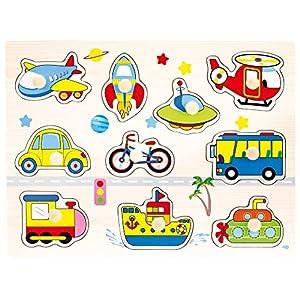 Bino Europe- Puzzle Transporte (88115)