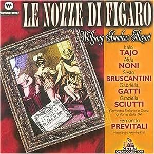 Le Nozze Di Figaro (Previtali, Bruscantini, Gatti, Tajo)