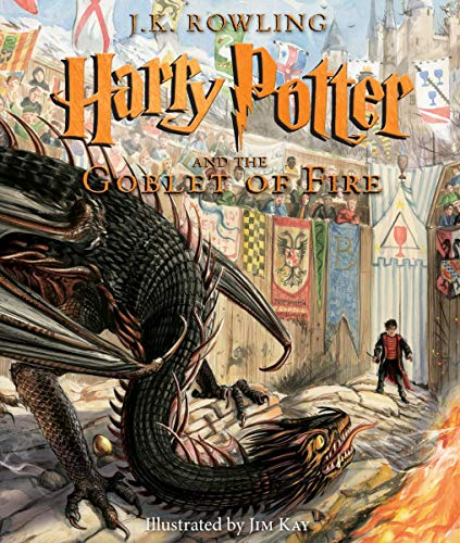 Harry Potter and the Goblet of Fire: The Illustrated Edition (Harry Potter Illustrated Editions)