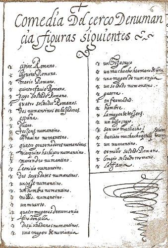 La Numancia por Miguel de Cervantes Saavedra