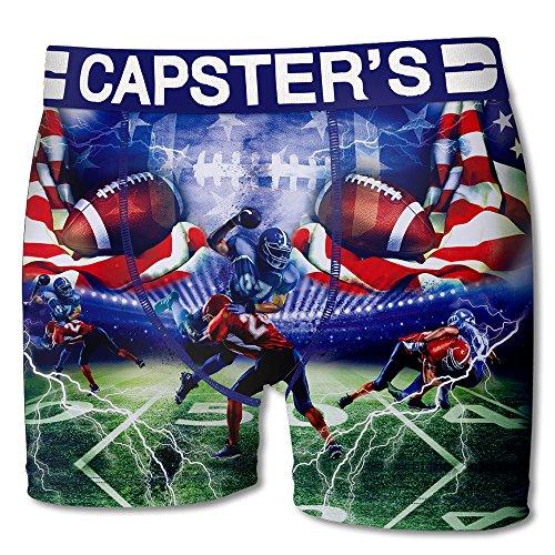 Capsters Herren Boxershort Multicolors