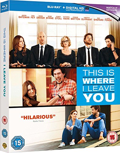 This Is Where I Leave You [Blu-ray] [Import anglais]
