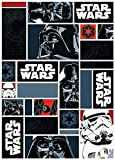Associated Weavers Alfombra con diseño Star Wars, Nylon, Azul, 100 x ..